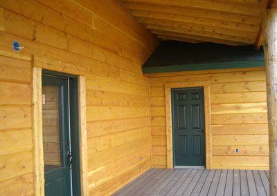 Smooth Pine Timber Siding